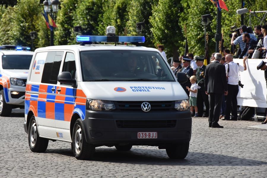 Défilé Protection Civile