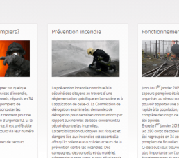 our site's Fire Brigade webpage